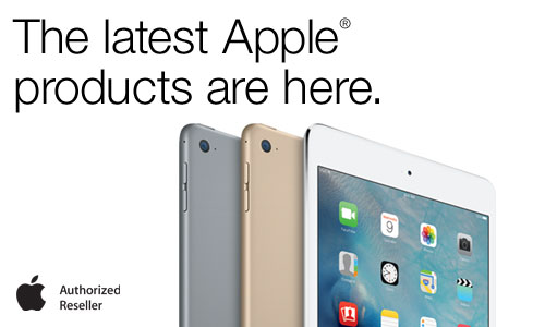 All the latest Apple Products now available!