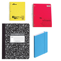 Notebooks & Composition Books