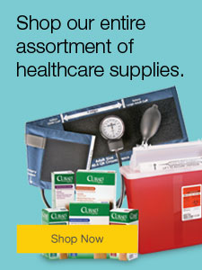 Shop our entire assortment of healthcare supplies