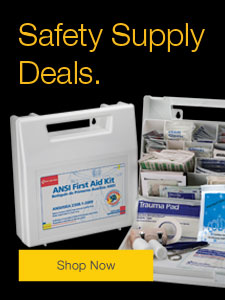 Shop our safety supply deals