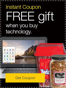 FREE gift when you buy technology.