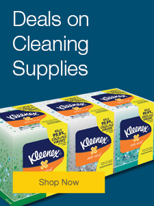 Deals on Cleaning Supplies.