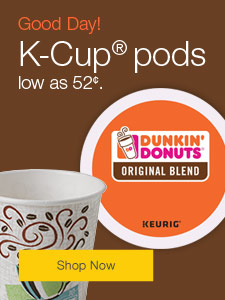 K-Cup® pods low as 52¢.